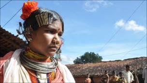 एक आदिवासी युवती
