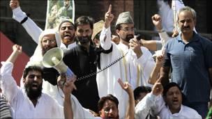 رهبران مخالفان در کشمیر هند