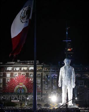Estatua del sacerdote Manuel Hidalgo