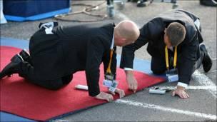Подготовка к встрече Папы Римского в Эдинбурге