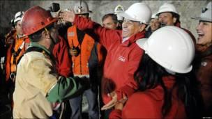 Спасение горняков в Чили