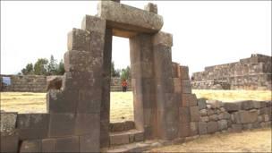 Plataforma ceremonial también en Vilcashuamán