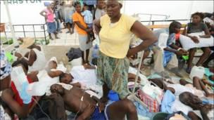 آلبوم عکس: شیوع وبا در هائیتی