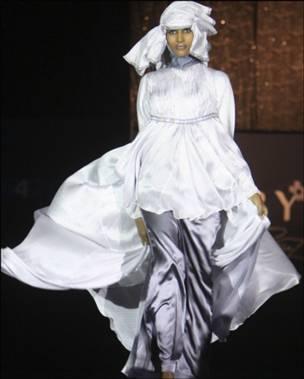 Парад мод в Дохе