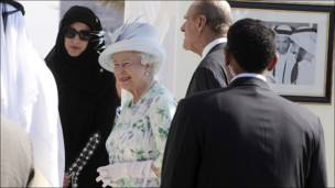 زيارة ملكة بريطانيا الى الإمارات