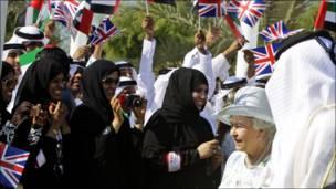 زيارة ملكة بريطانيا الى الامارات