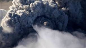 冰岛火山灰