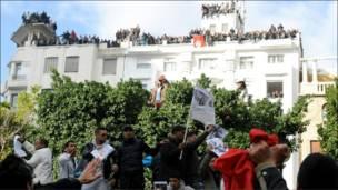Tunisia and protesters