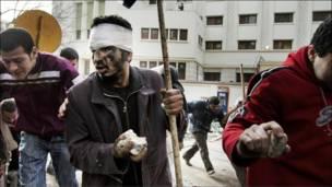 Pengunjuk rasa Kairo