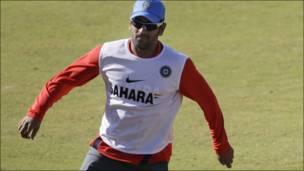 भारतीय टीम का अभ्यास सत्र