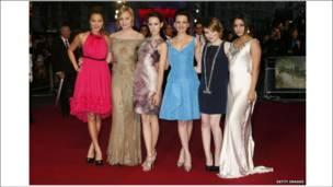 《美少女特工队》各位美女演员