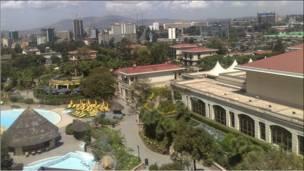 Muuqaalka bartamaha Addis Ababa