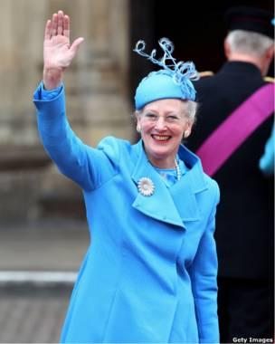 Её Величество Королева Маргрете II дасткая