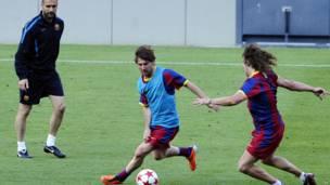 Messi dan Puyol