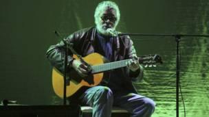 Facundo Cabral canta en Quetzaltenango