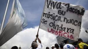 seguidores lamentan la muerte de Cabral en Guatemala