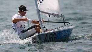 JULIO ALSOGARAY - País: Argentina - Deporte: Vela (Laser)