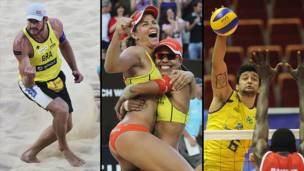 VOLEIBOL - País: Brasil - Especialidad: Masculino y de playa (masculino y femenino)