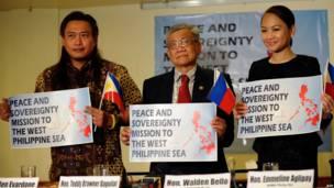 Tiga anggota Kongres Filipina mengumumkan kunjungan ke Pulau Spratly