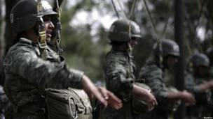 Десантницы Мексики