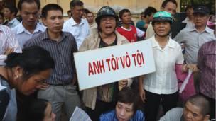 Những người ủng hộ Tiến sỹ Hà Vũ