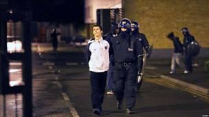 Полиция задержала подростка в Брикстоне