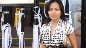 Một người Việt tới thăm khu tưởng niệm 11/9