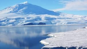 Вулкана Эребус, Антарктика