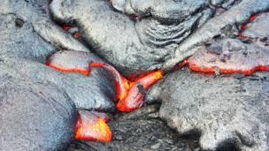 Лава вулкана Килауэа