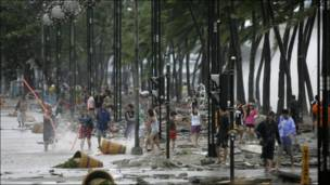 Mahaukaciyar guguwa ta yi barna a Philippines