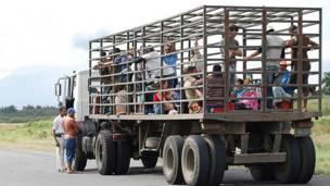 Camión en Cuba