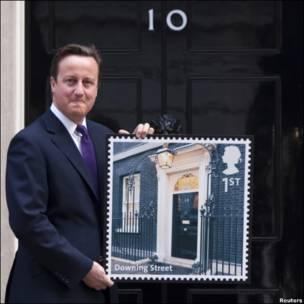 英国首相府邮票