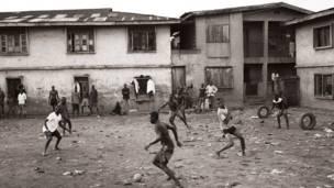 Kandanda la mitaani Nigeria