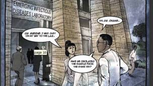 Cómic de zombis del Centro para la Prevención y Control de Enfermedades (CDC por sus siglas inglesas).