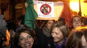 Adiós Silvio Berlusconi