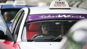 Supir taksi Musalmah Mustafa