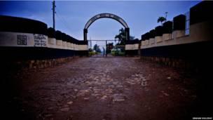 A prisão de Nsinda, ao leste de Kigali, a capital de Ruanda. Foto: Graham Holliday