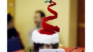 امریکا - ریان شامپیرلاین د کریسمس سندره وايي