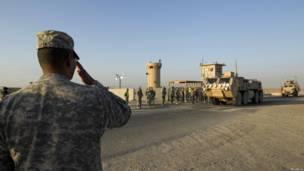 अमरीकी सेना ने इराक़ छोड़ा