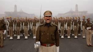 Репетиция парада в Нью-Дели