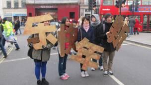 年輕中國學生