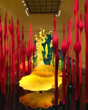Exposición de Dale Chihuly en Londres