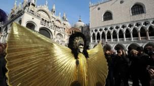 Fantasia em Veneza (Getty Images)