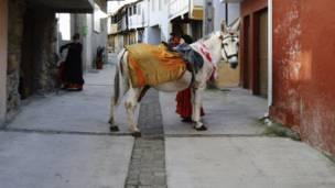 Carnaval em Laza (Reuters)