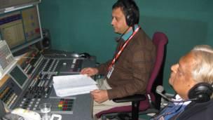 नेपाली सेवाको लण्डन स्टुडियो