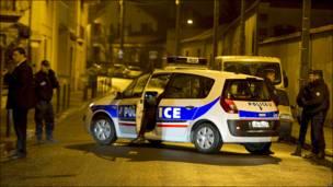 Операция по поимке подозреваемого в убийствах в Тулузе