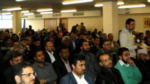 تجمع فلسطيني في لندن