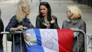 Сторонницы Николя Саркози