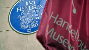 Jimi Hendrix e Handel (fotos: Rafael Estefanía / BBC)