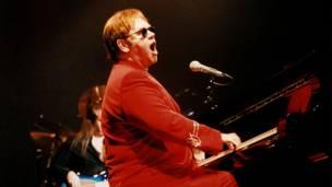 Elton John (fotos: Rafael Estefanía / BBC)
